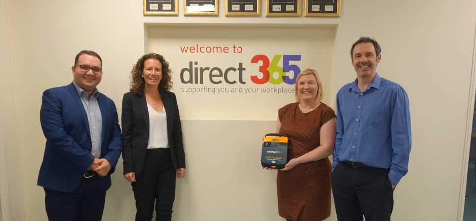 Direct365 expands its training offering service with life-saving courses