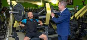 Shropshire veteran praises Duncan Bannatyne for health club membership and plans London Marathon challenge