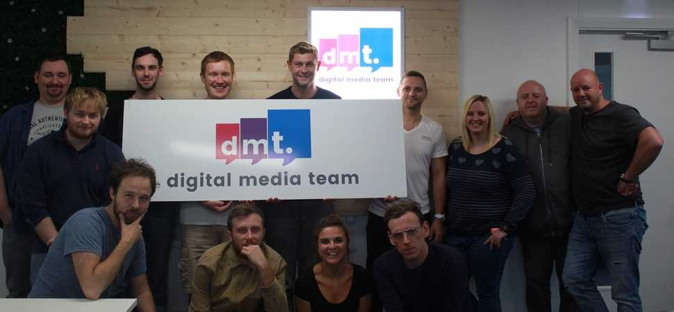 Digital Media Team expands into three-storey office