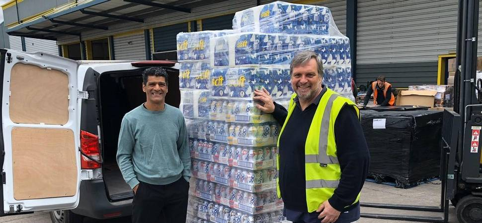 Businesses join forces to feed vulnerable families