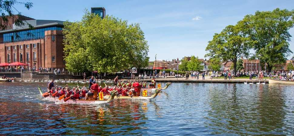 adi races ahead with Heart Research UK dragon boat battle