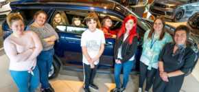 Farnell Land Rover Nelson supports local young carers