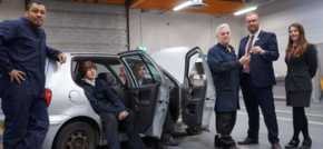 Bristol Street Motors Widnes Nissan supports budding mechanics