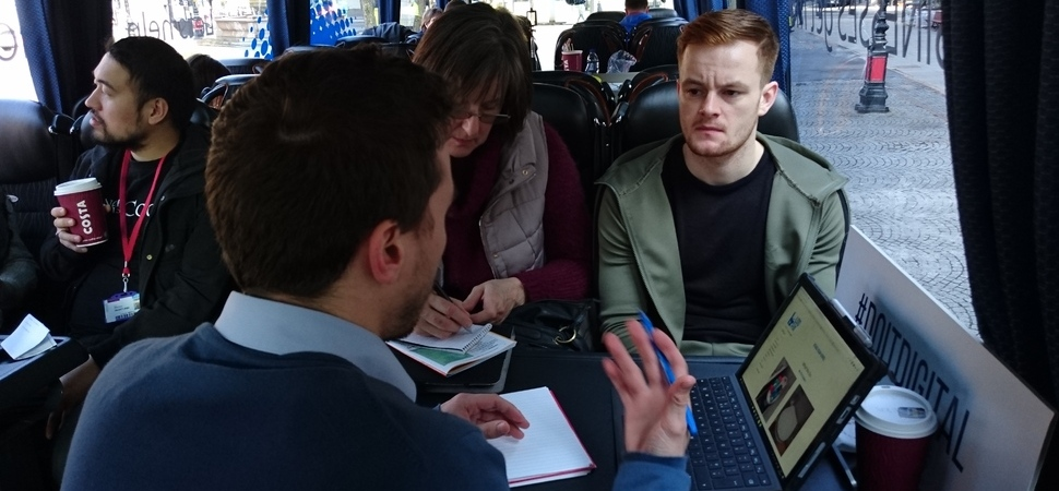Manchester businesses receive advice on social media & digital marketing