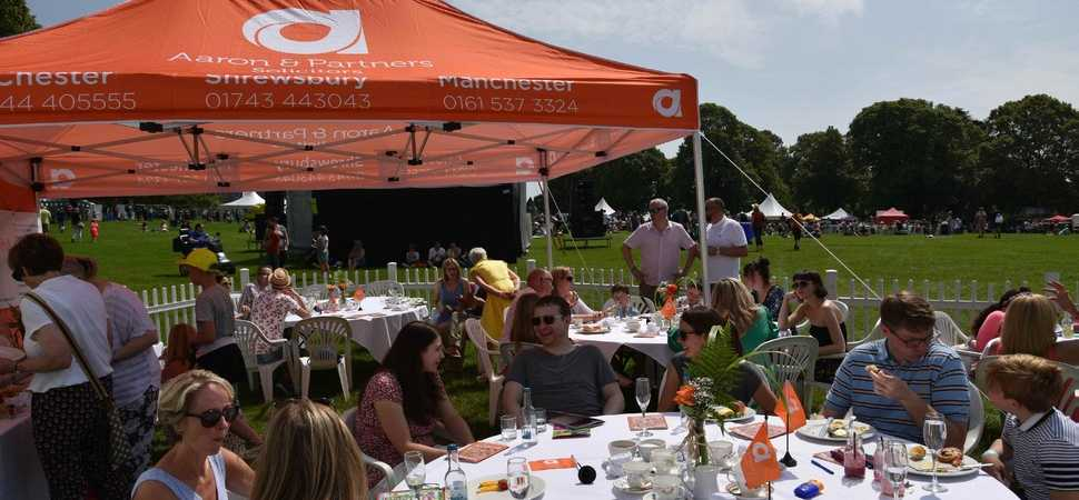 Fun in the sun as crowds flock to Shrewsbury Food Festival