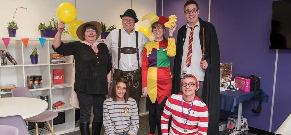 Preston fancy dress fundraiser makes over £300 for Children In Need