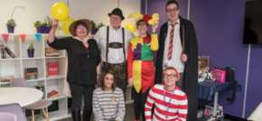 Preston fancy dress fundraiser makes over £300 for Children In Need