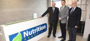 Business Minister opens Nutrition Group's new production facility