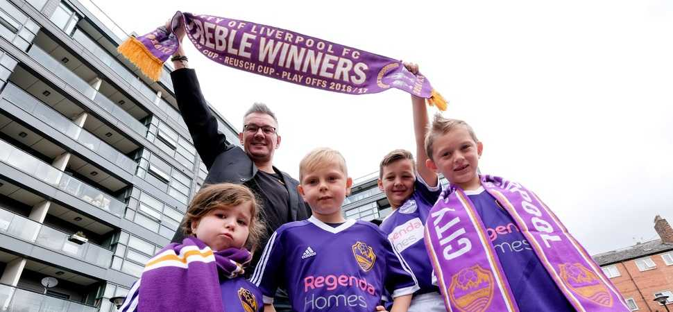 Two more years! Regenda Homes extend winning partnership with COLFC