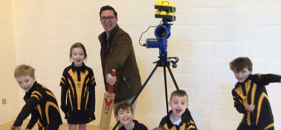 Pownall Hall School set to up its cricket game thanks to donation from DSG