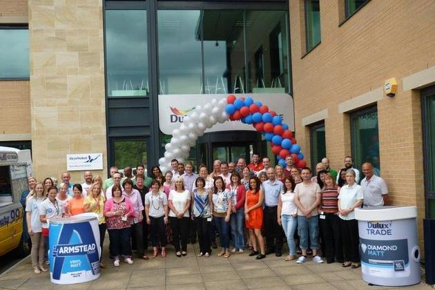 Dulux Decorator Centre awarded Champion Gold Investor in People status