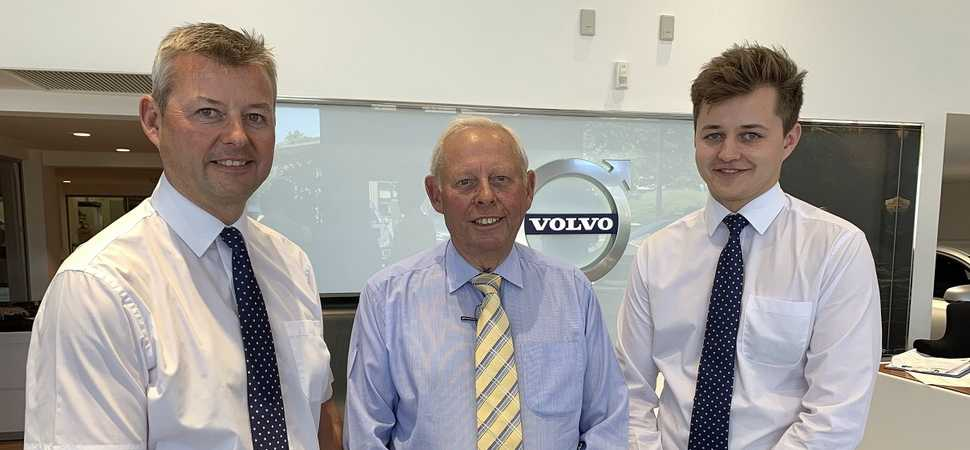 Local entrepreneur and great grandson joins family motoring business
