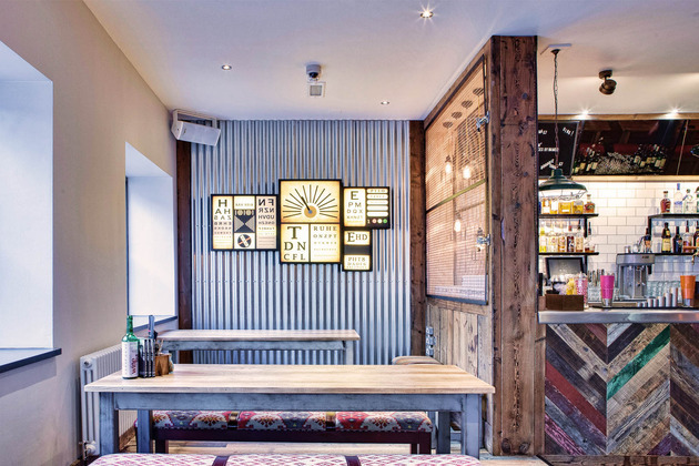 New Manchester bar and kitchen unveils 'crafty' interior courtesy of DV8 Designs