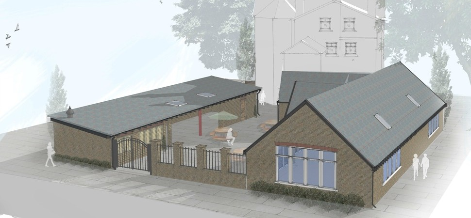 New extension agreed for King's Head pub courtesy of DV8 Designs
