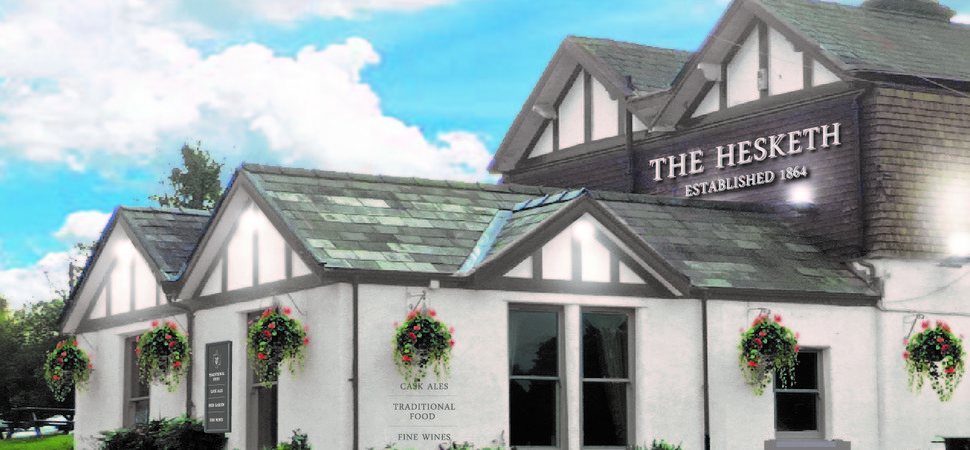 DV8 Designs renovates a historic Cheshire pub
