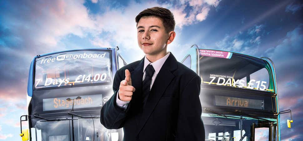 Meet Liverpool's next star politician  a 13-year-old who wants you to Vote Bus