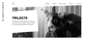 Leeds arts organisation has website re-developed by design and web agency Fablr
