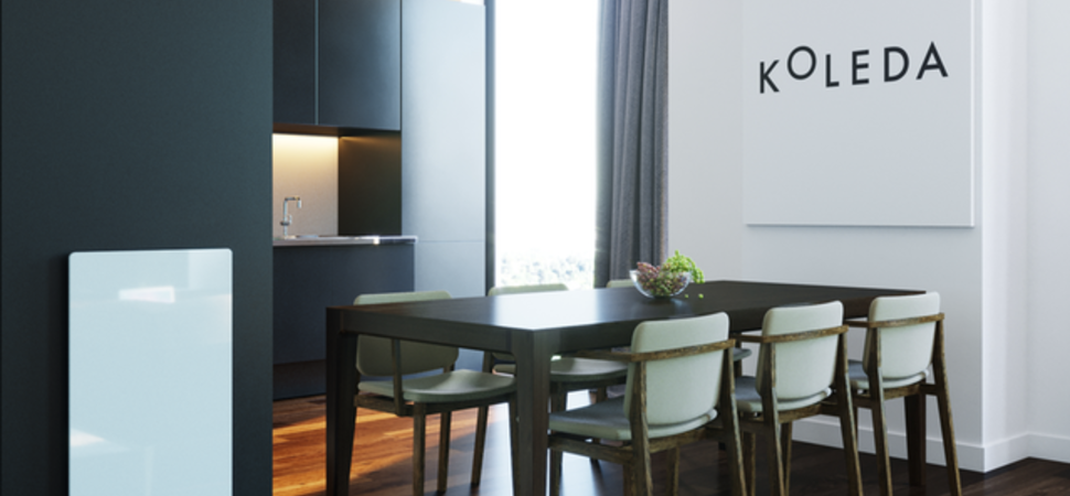 Smart heating start-up Koleda 200% Funded on Indiegogo for their SOLUS Radiator