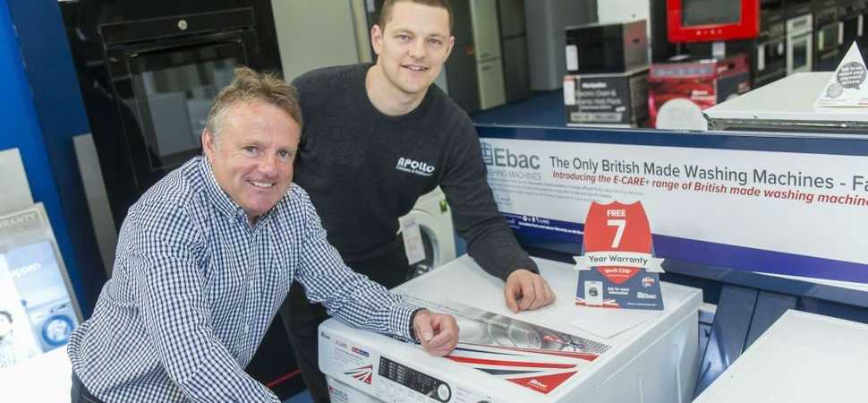 Apollo Appliances flies the flag for British manufacturing