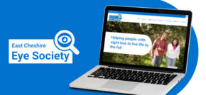East Cheshire Eye Society refreshes brand and website