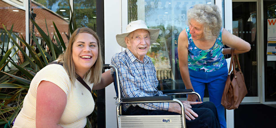 Care home makes residents hair-raising wish come true