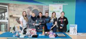 EDF Doxford staff raise £1,000 in Valentines fundraiser for Prostate Cancer UK