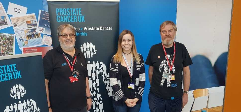 Energy staff support key prostate cancer awareness message