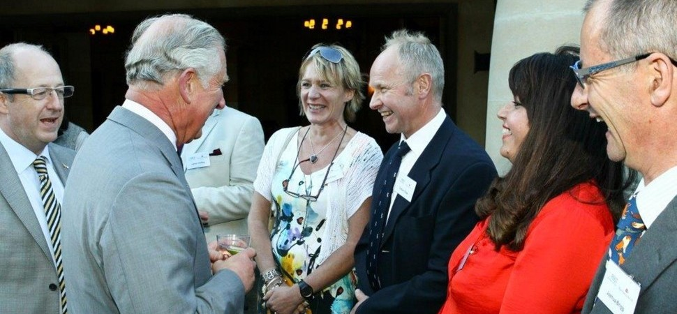Edge & Sons 'meat' with royalty as part of annual conference