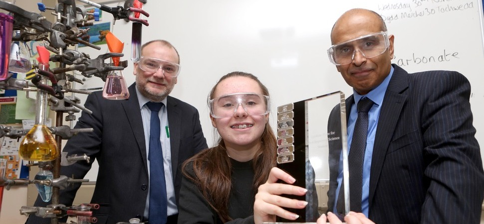 Aspiring physicist scoops schools annual science prize