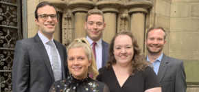 Glaisyers Solicitors gears up for growth with five new legal hires