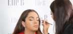 New York Trained Celebrity Makeup Artist Elle B Teaches North West to Contour