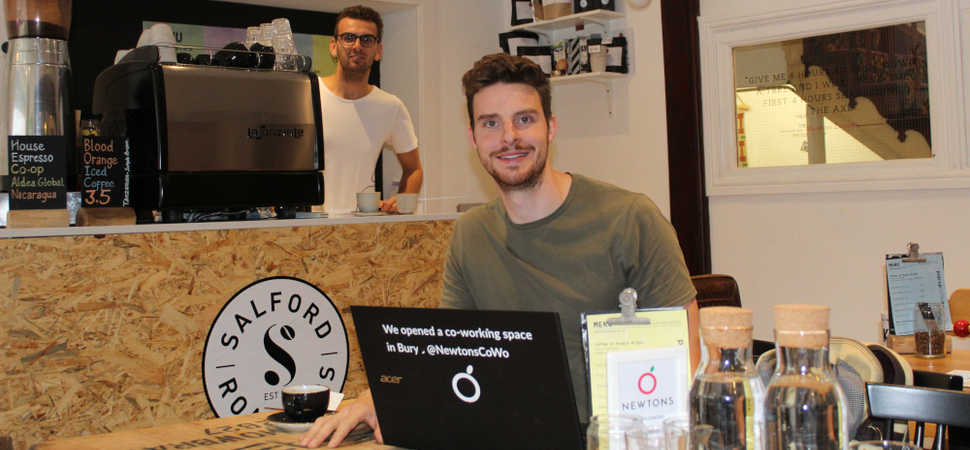 Pop-up speciality coffee counter opens at Bury co-working hotspot