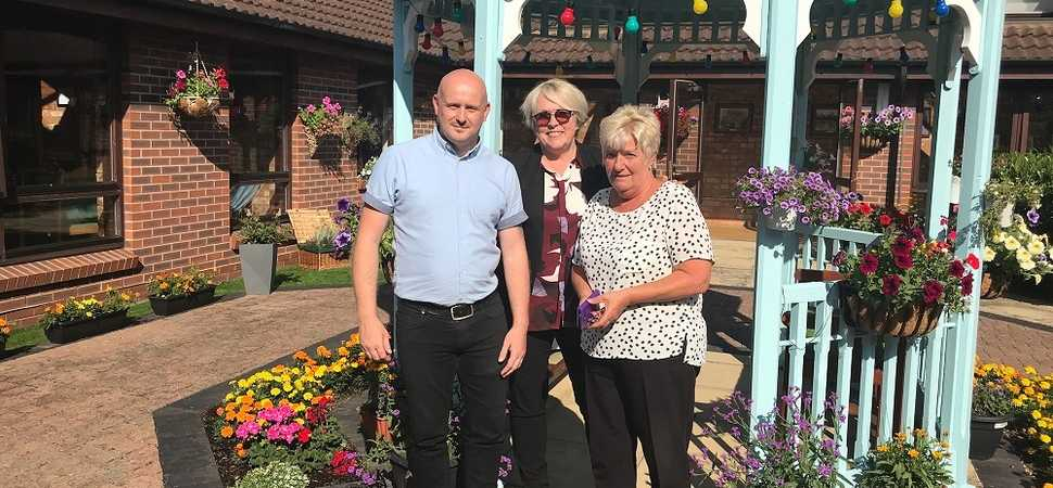 Everything's rosy at award winning Hull care home