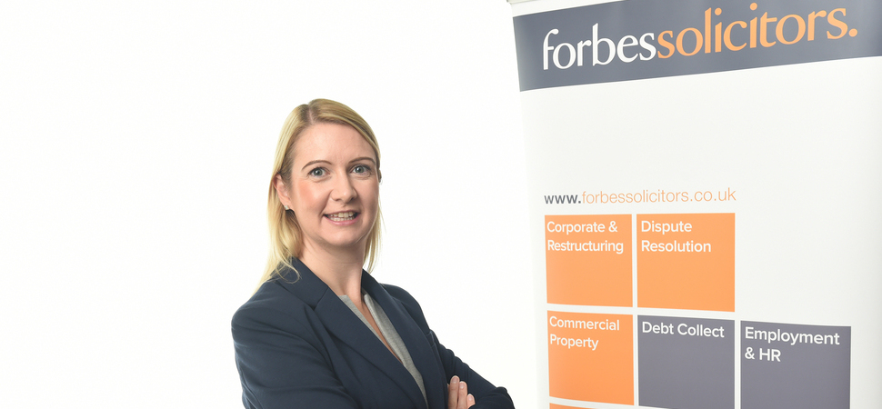 Highly Regarded Lancashire Employment Lawyer Joins Forbes Solicitors