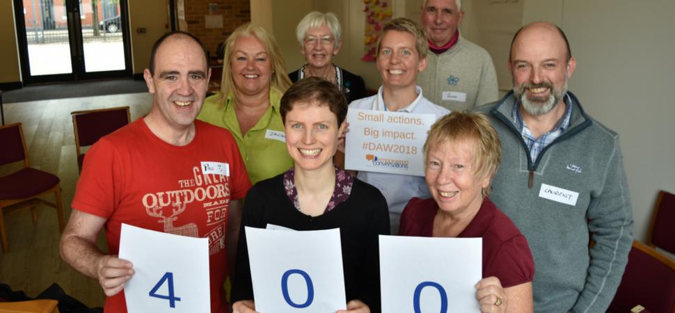 Salford social enterprise hits milestone training target in Dementia Action Week
