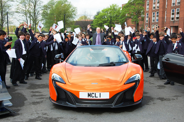 Supercar Science Day At The Manchester Grammar School