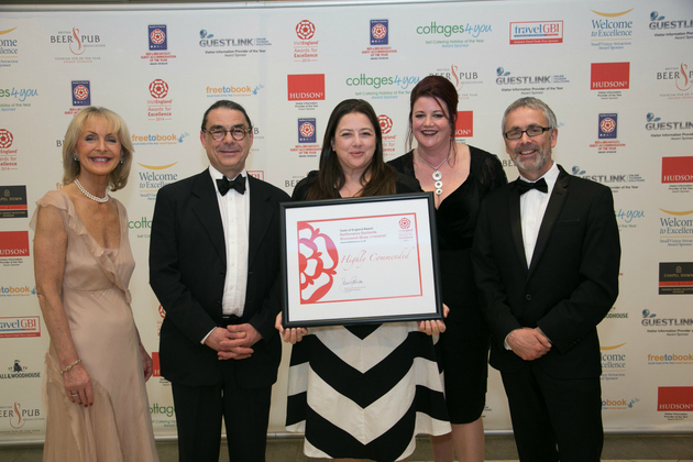 Delifonseca is 'Highly Commended' at the 2014 VisitEngland Awards for Excellence