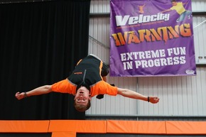 Jump out of your skin at Velocity Trampoline Park this Halloween
