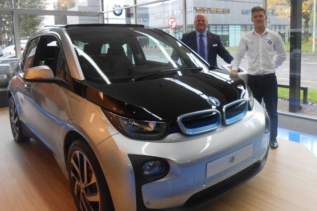Williams Manchester BMW opens BMW i Pop-Up Shop