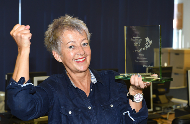 'Inspirational' Catherine crowned national winner