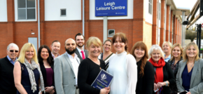 Leigh family business - CarLease UK - announced as the main sponsor at expo