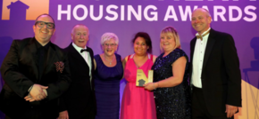 Housing association wins industry award for going the extra mile for residents