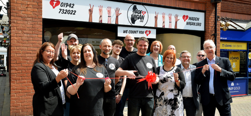 New hub sets up to support local talent thanks to help from Wigan businesses