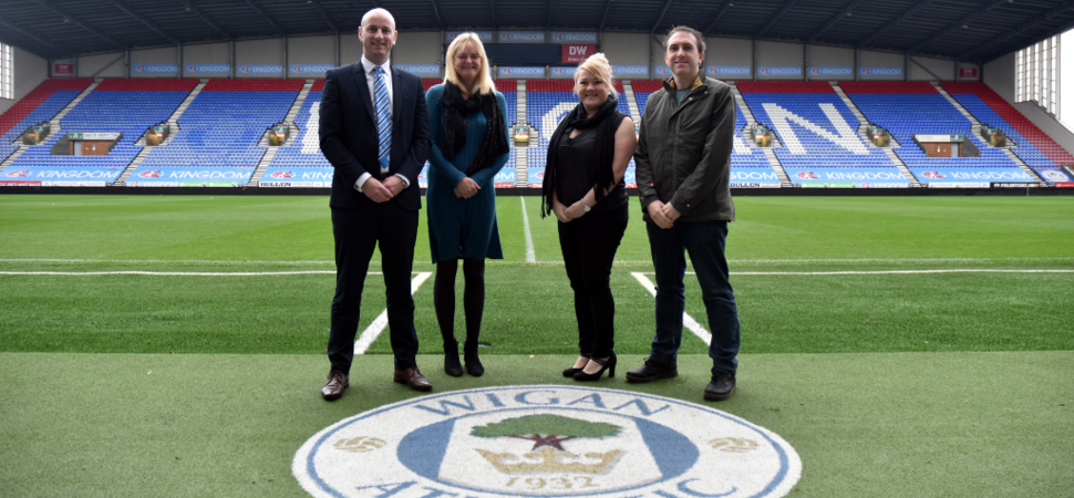 Digital Marketing Agency scores an official club partnership with Wigan Athletic