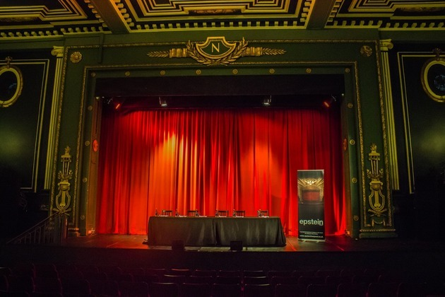Put on a show during conferences & corporate events at The Epstein Theatre