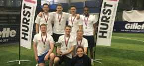 Equilibrium triumph as HURST football tournament raises money for MedEquip4Kids