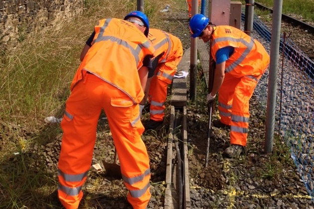 Eric Wright Rail Wins Network Rail Principal Contractor Accreditation