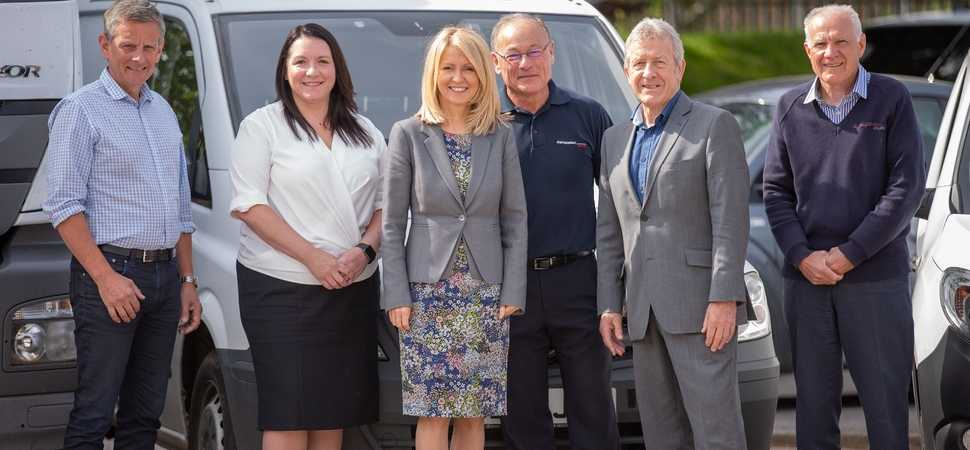 The Rt Hon Esther McVey, MP visits specialist Cheshire Courier Business