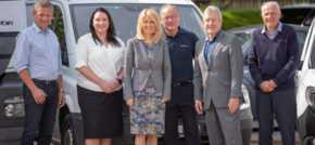The Rt Hon Esther McVey, MP for Tatton visits specialist Knutsford Courier
