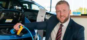 Electric vehicle accreditation for Bristol Street Motors Darlington Nissan